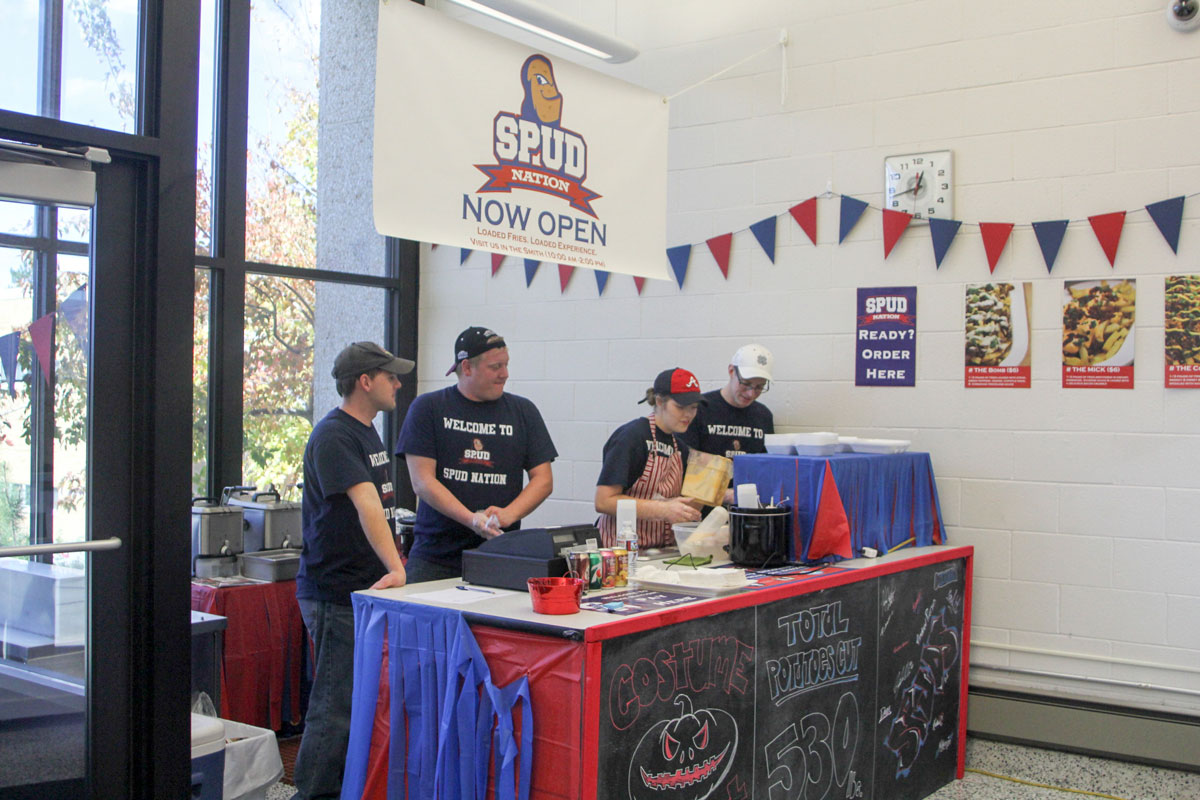 Spud Nation offers potato dishes on campus
