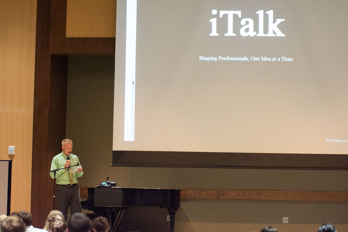 iTalk gives students a voice on campus