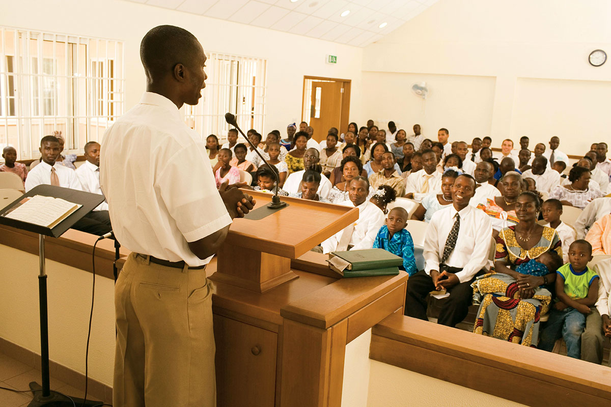Church membership expands in Africa