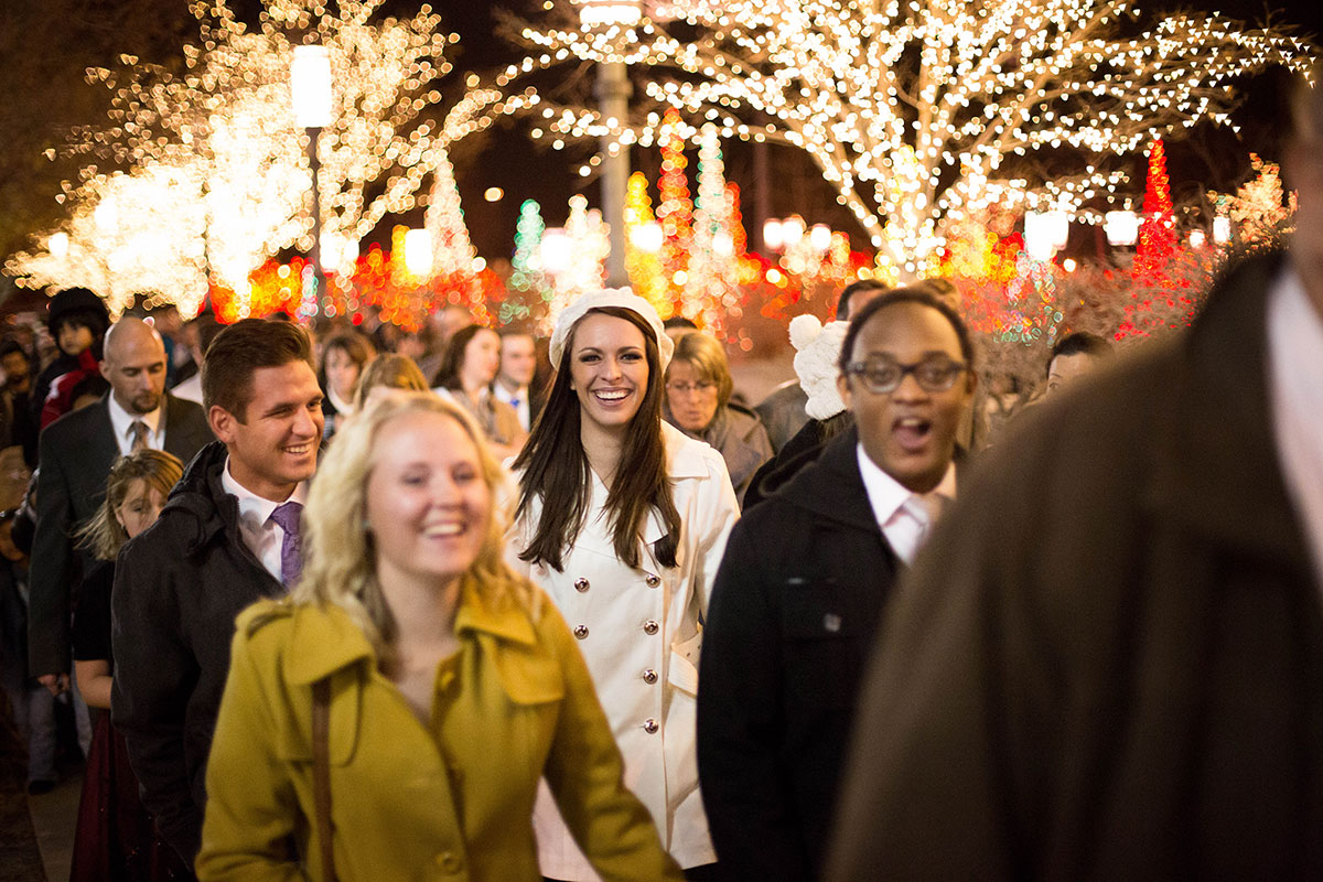 BYU-Idaho students look forward to First Presidency Christmas devotional