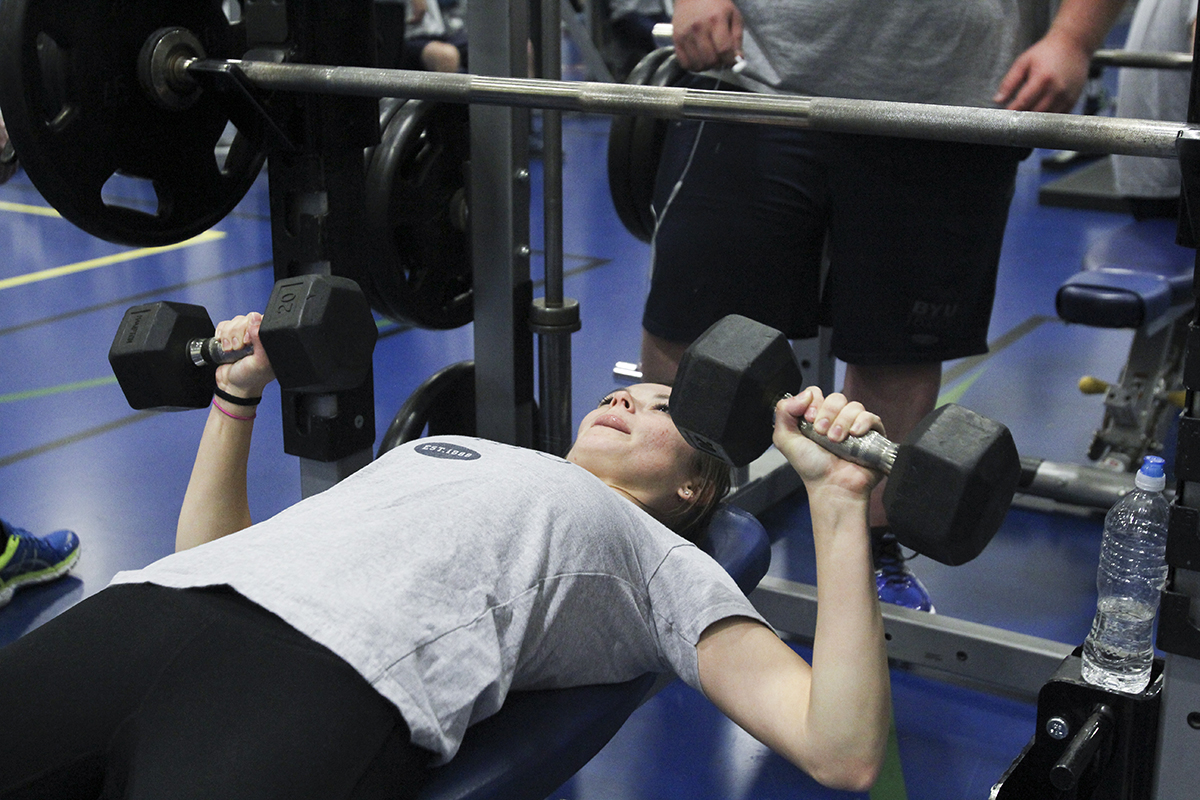 Lifting weights empowers women