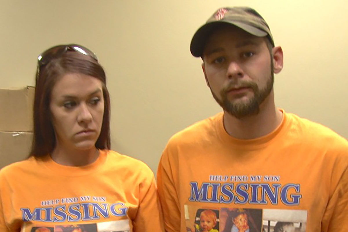 Parents named suspects in missing person's case