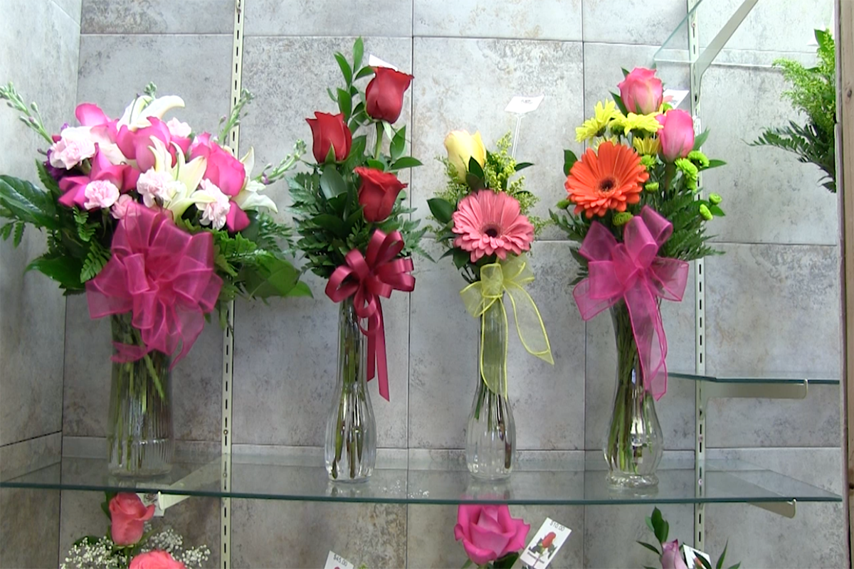 Floral shop provides Valentine's Day gifts