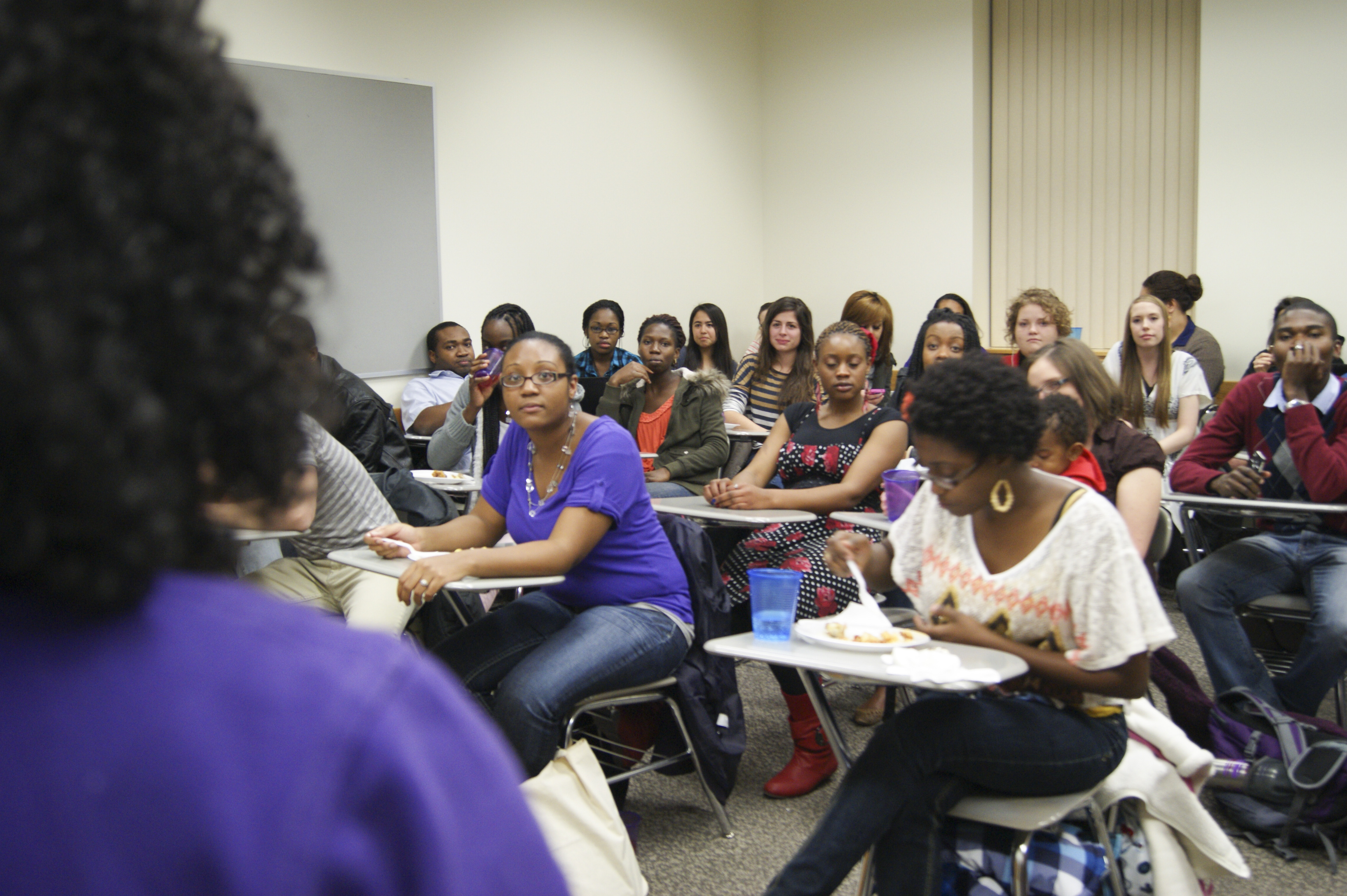 Students discuss racial equality and understanding at BYU-I