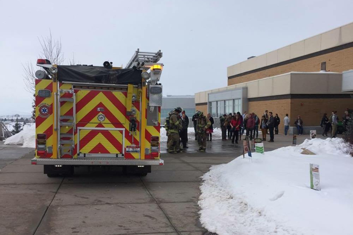 Fire alarms misfire at Manwaring Center