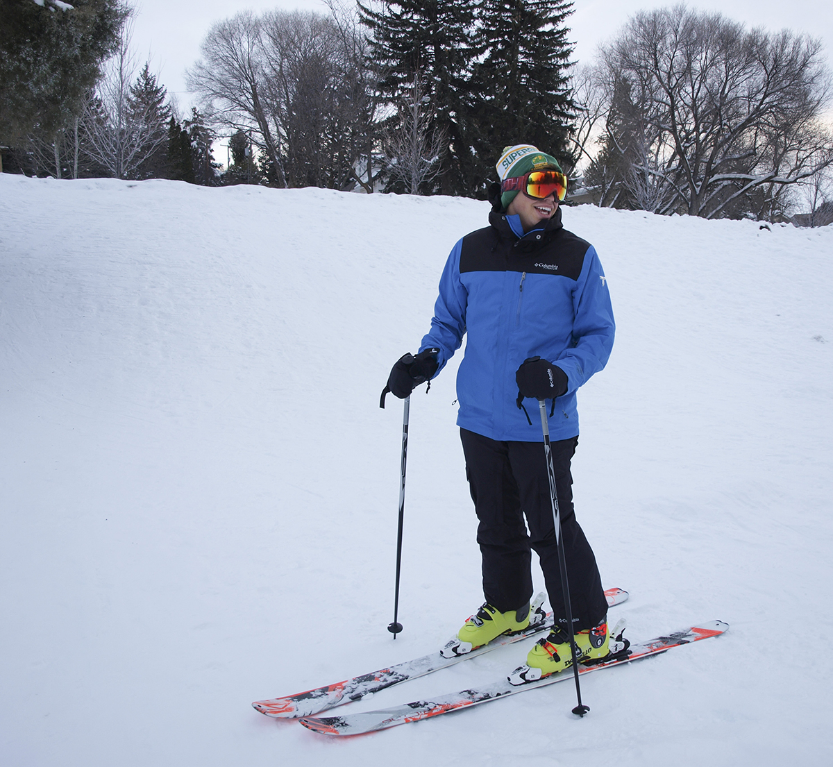 Students find exhilaration in winter sports