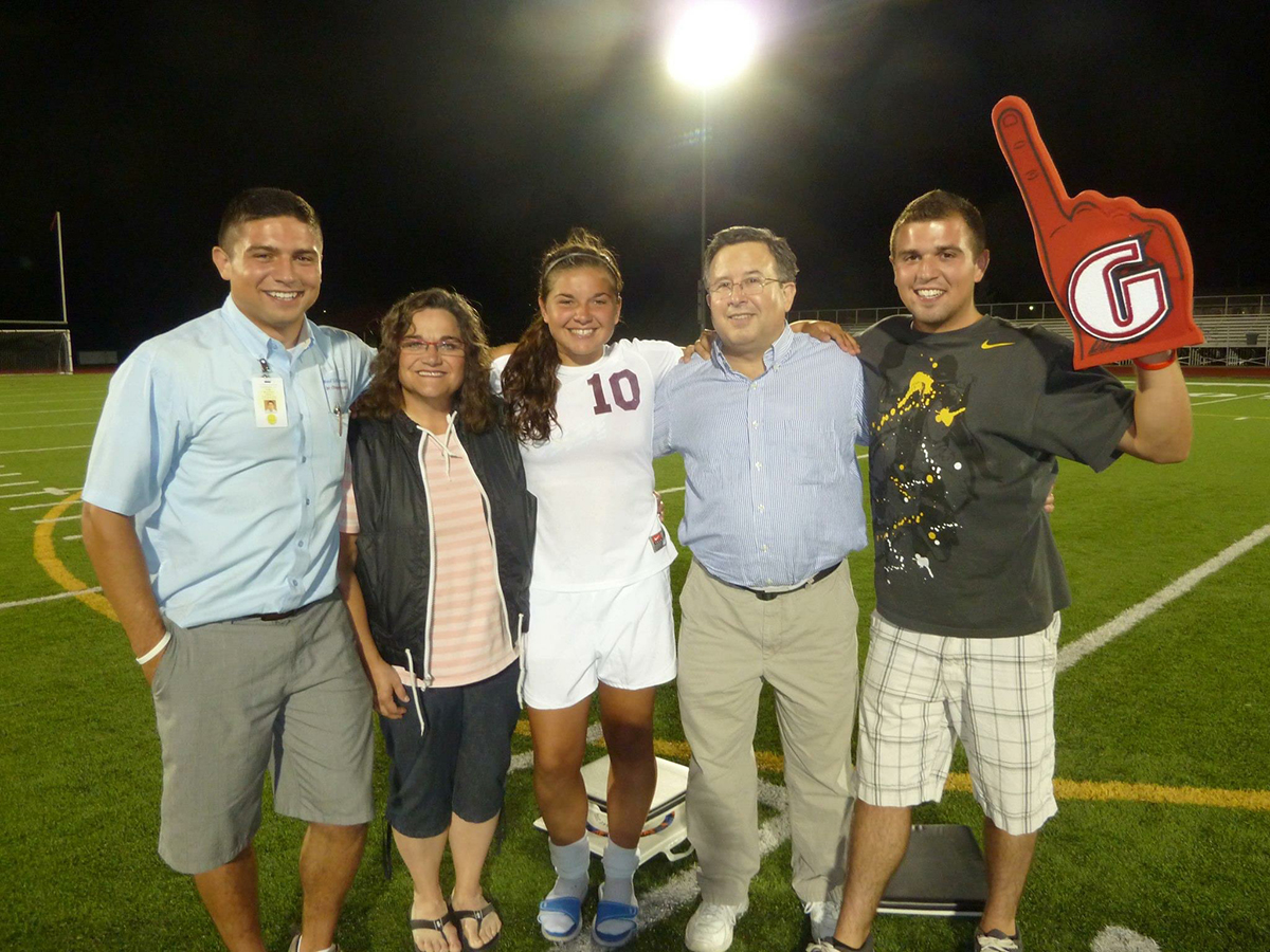 Soccer experiences spur student to success
