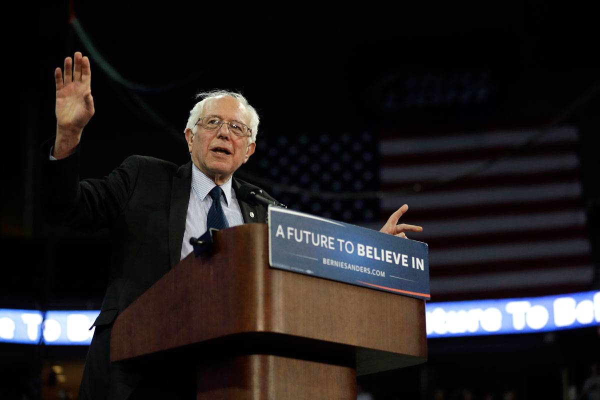 Sanders to have rally in Idaho Falls