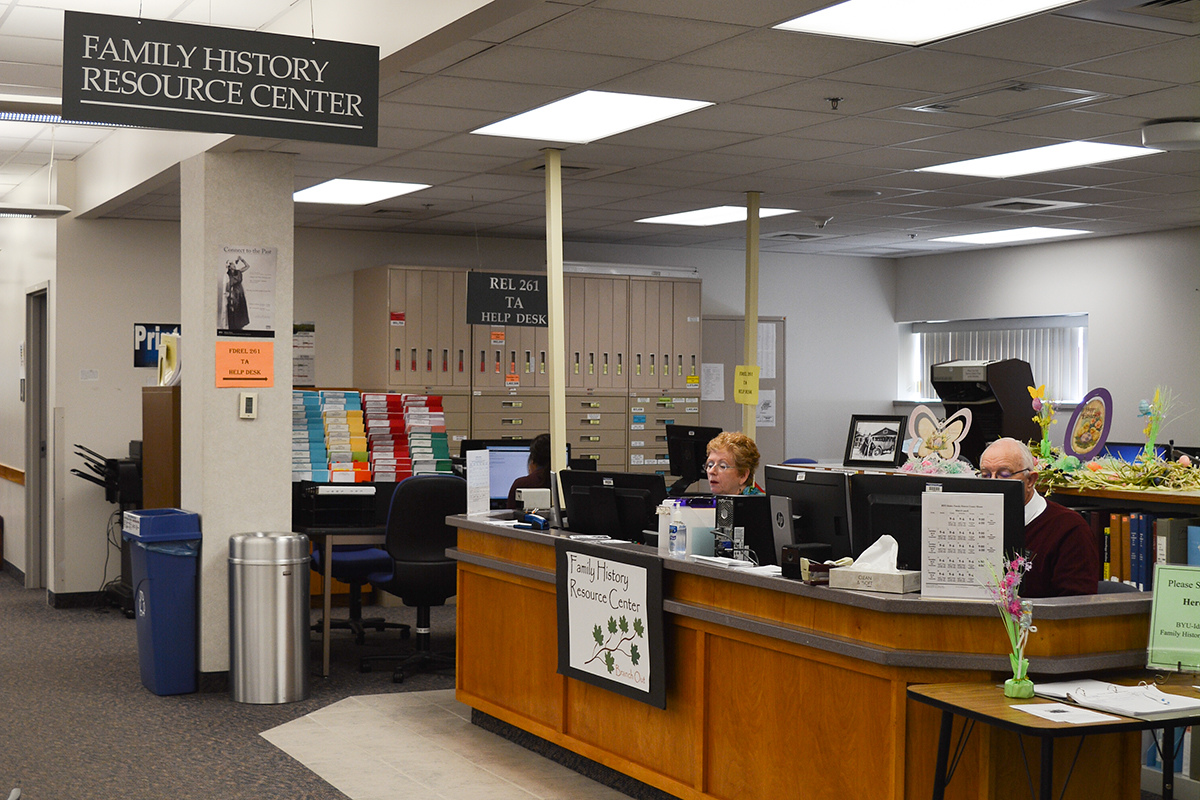 Family History Center connects student's families