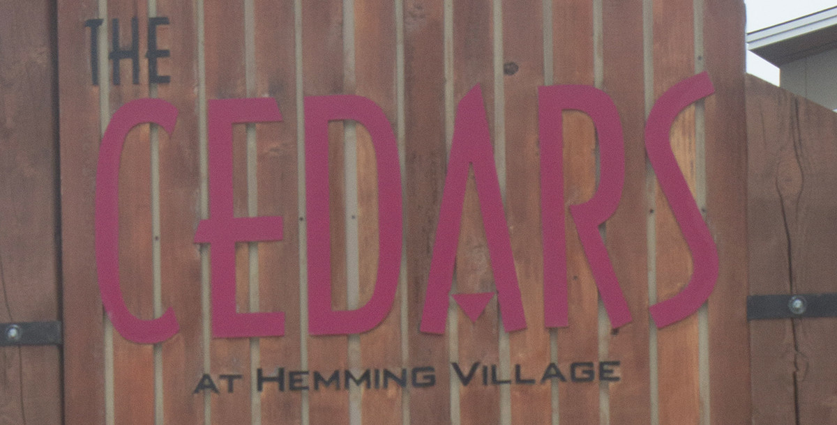 From Cedars to sawdust: Hemming Village to expand with combined single and married housing