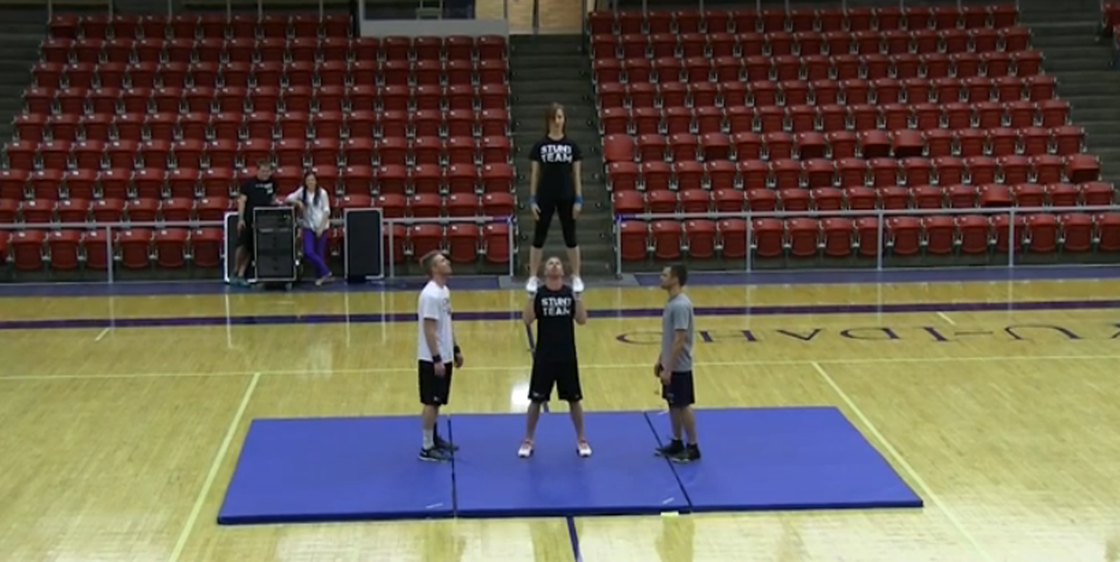 Competitive dance and Stunt teams rock the Hart Gym