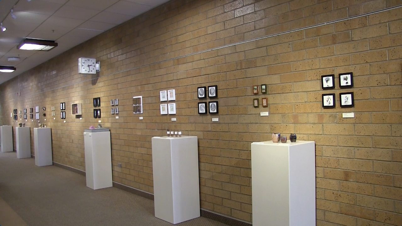 Tiny art show comes to campus