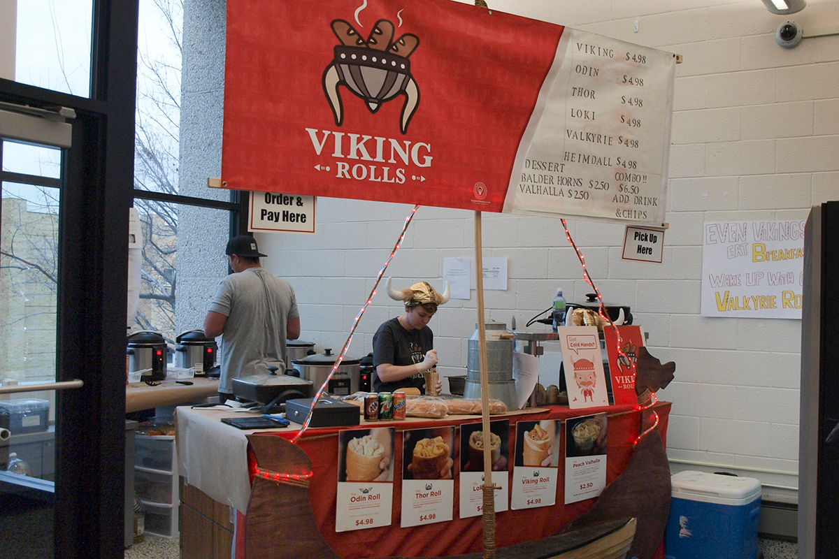 Students eat like vikings with IBC group