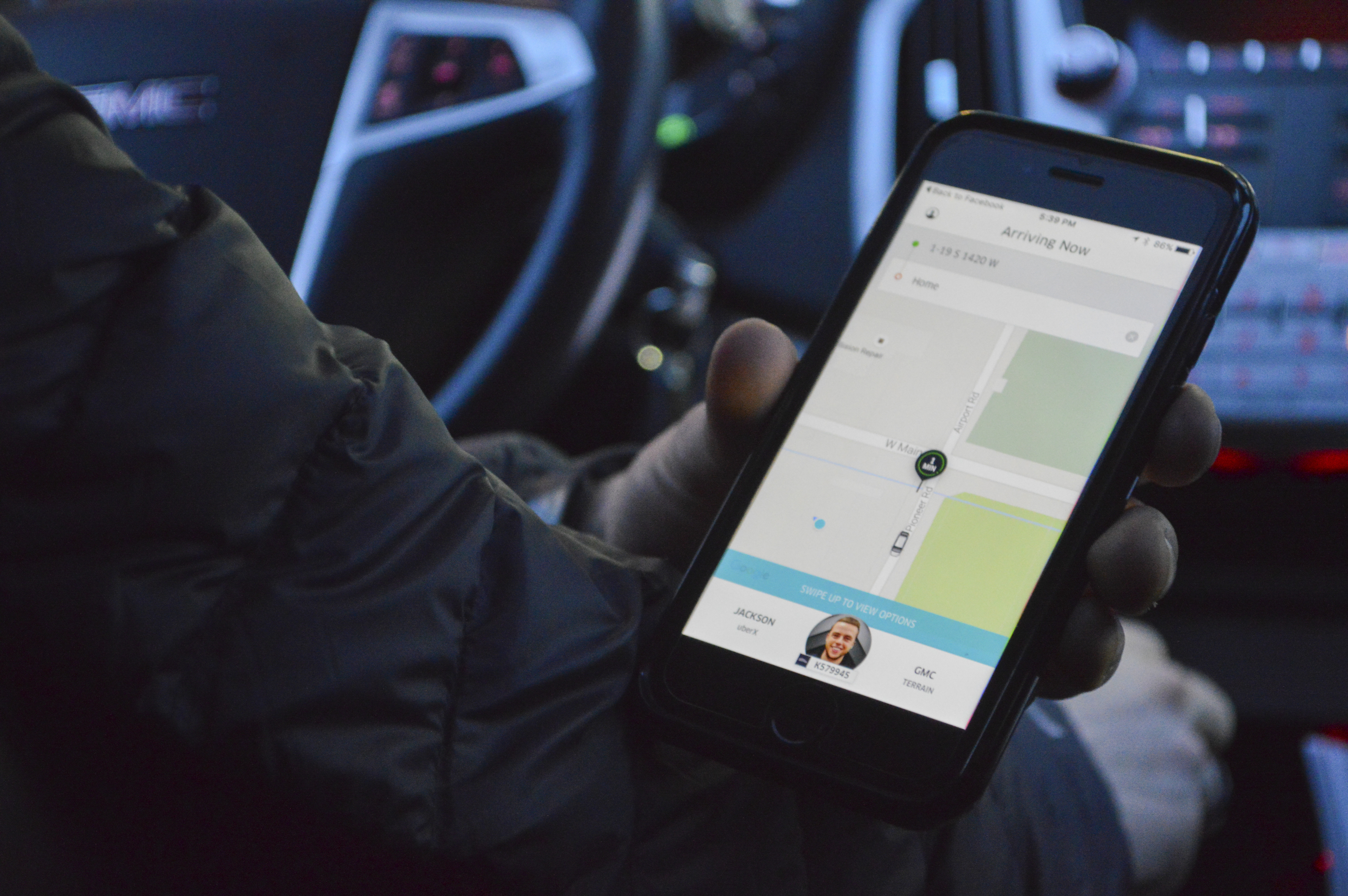 Über not requiring more secure background checks for drivers