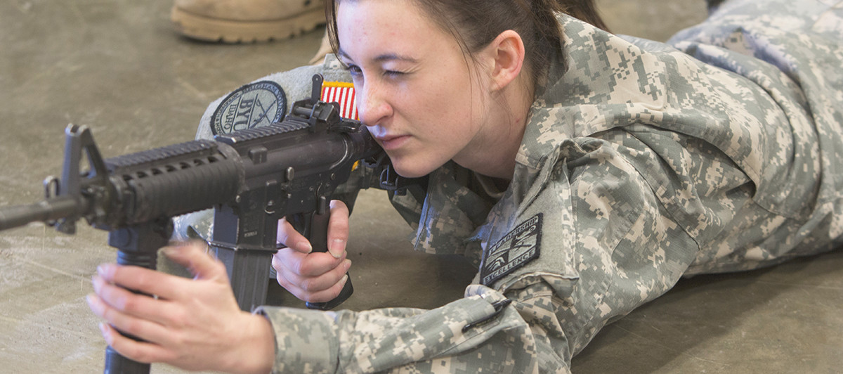 Women are recruited for military combat positions