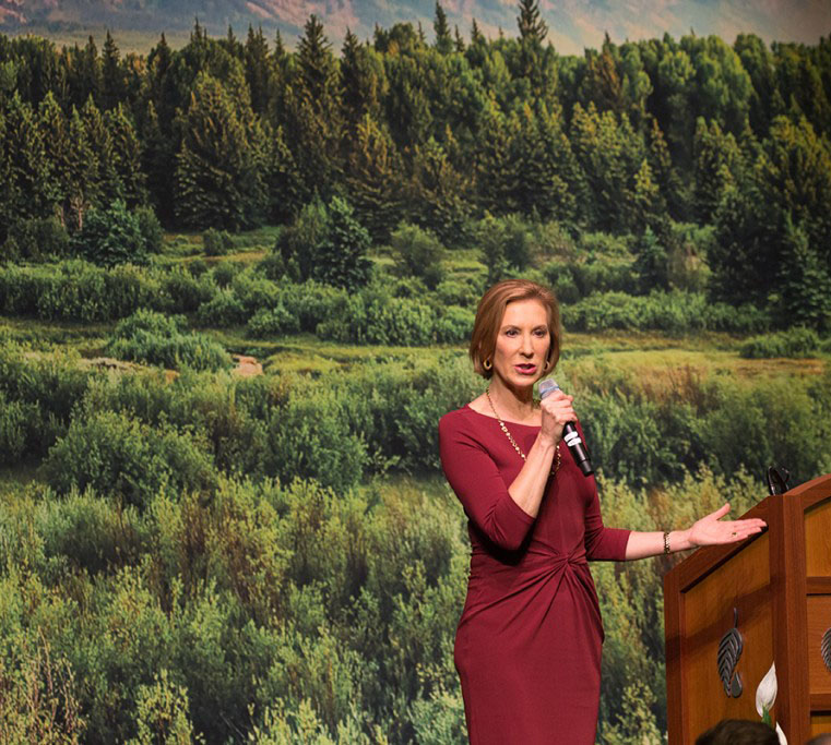 Ted Cruz names Carly Fiorina VP pick