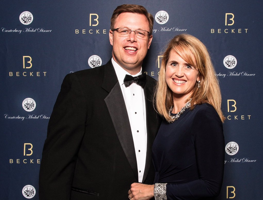 President and Sister Gilbert attend gala