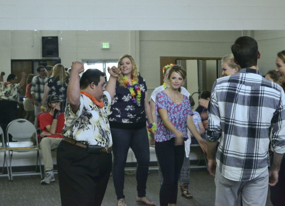 Dance held for students with special needs and friends