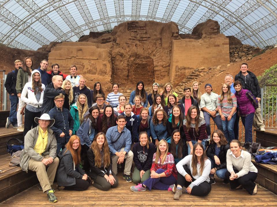 Students visiting the Middle East (Courtesy Photo)