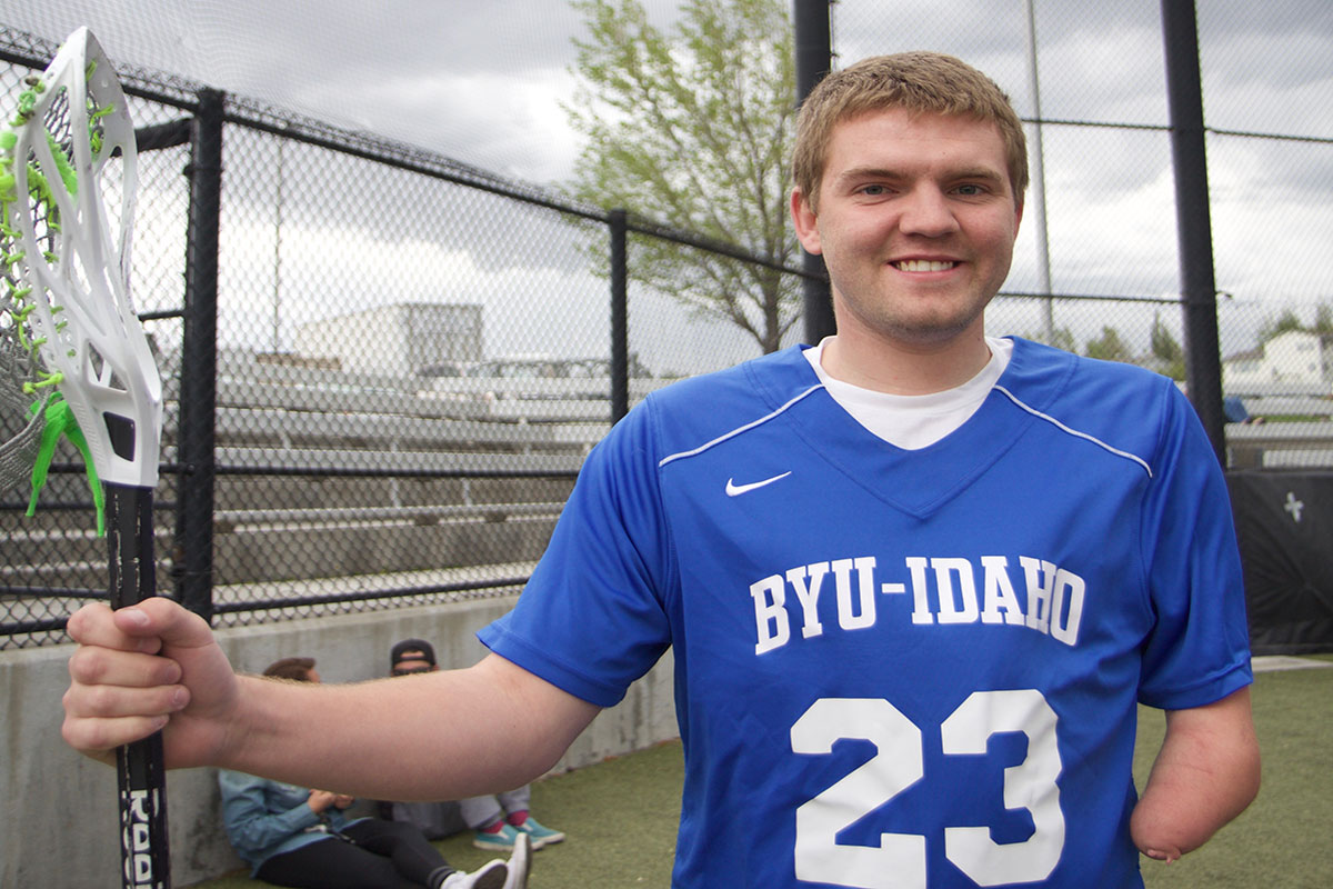 One arm is a help, not a hindrance: Jacob Campbell tells his lacrosse story