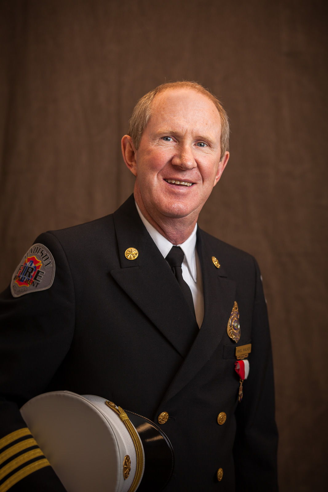 After 38 Years of Service, Assistant Chief Retires at Fire Department