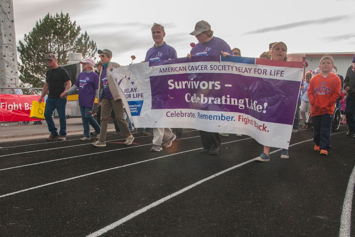 Relay for Life: A good walk for a good cause