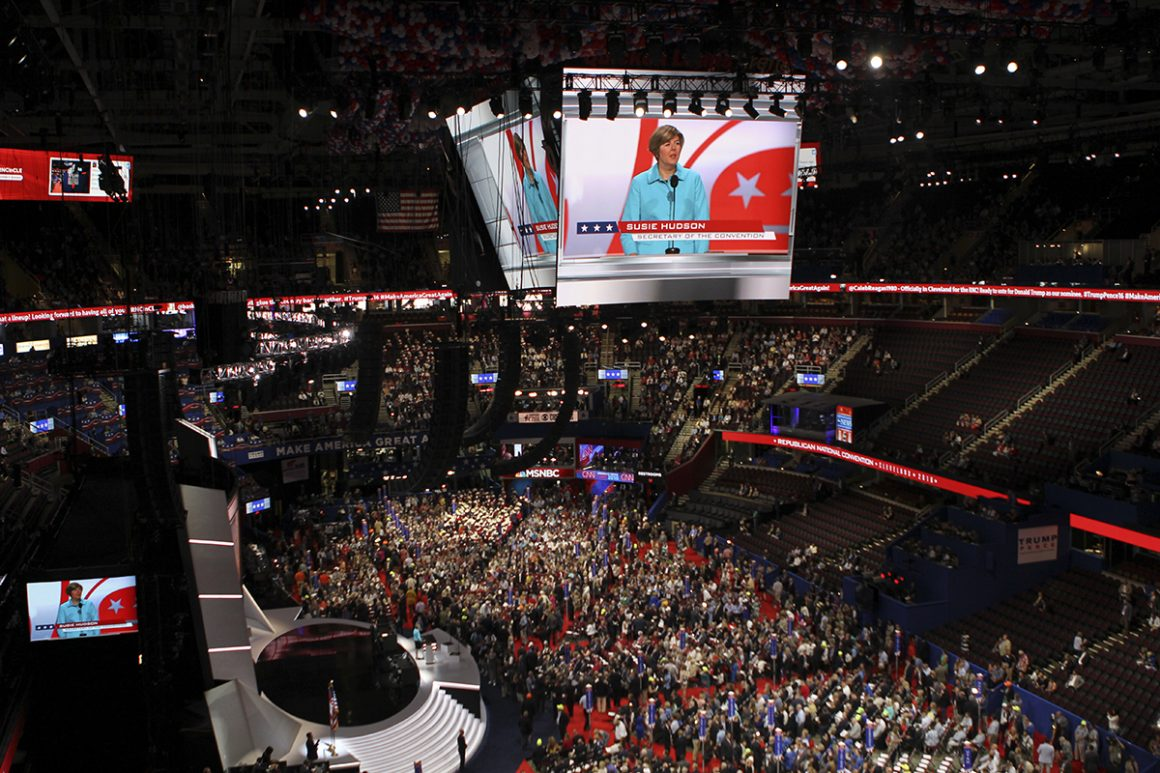 Monday at the Republican National Convention