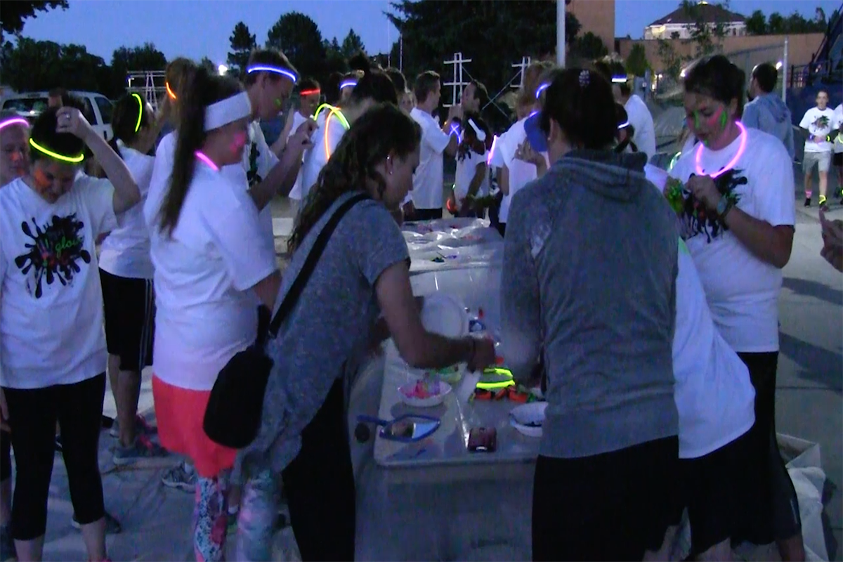 WATCH: color run and Dance