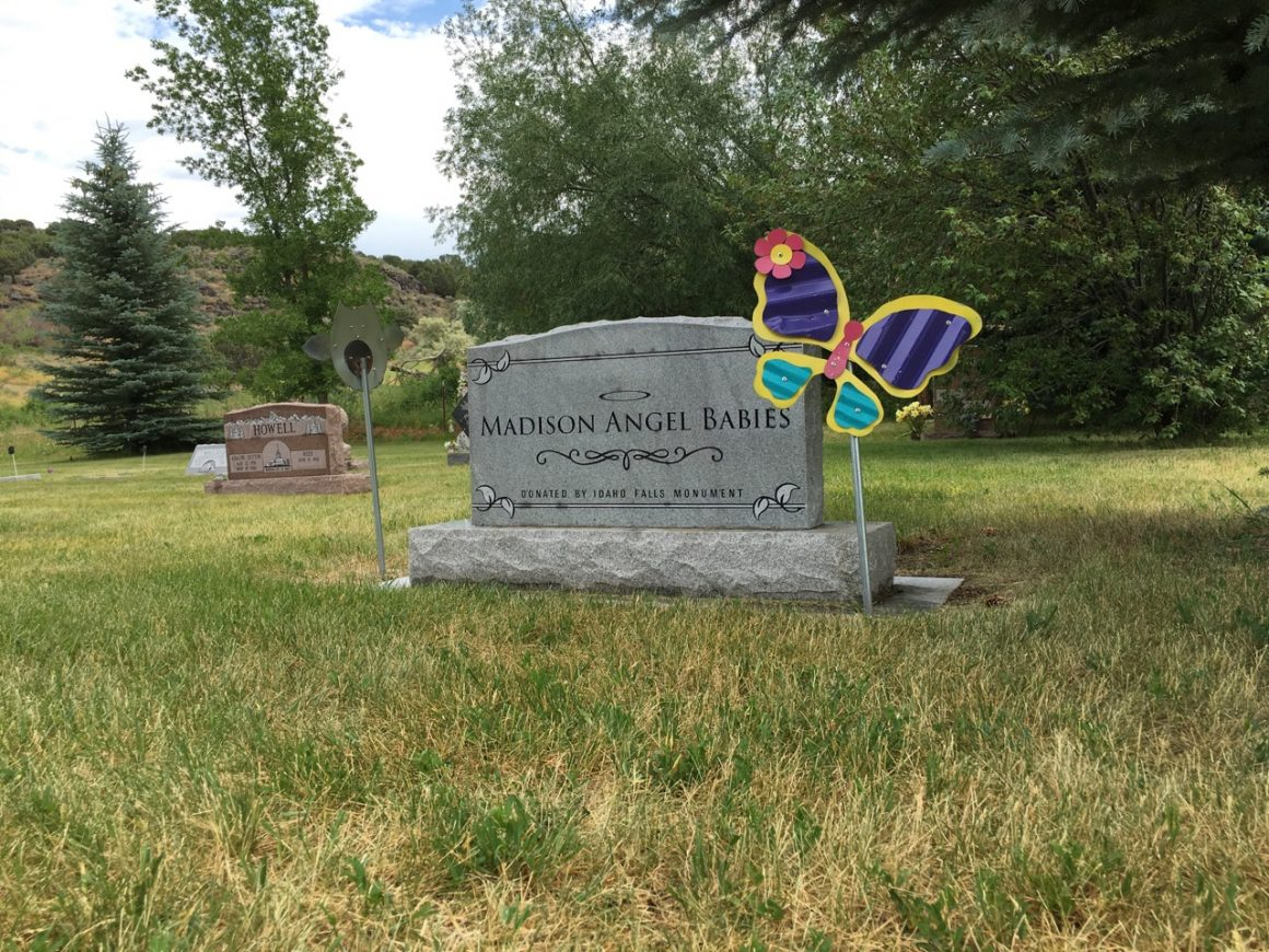 Madison Memorial Hospital's Angel babies plot provides a specific location at the Sutton Cemetery for infants that have passed away in the early stages of pregnancy. (Lucas Handy, Madison Memorial Hospital)
