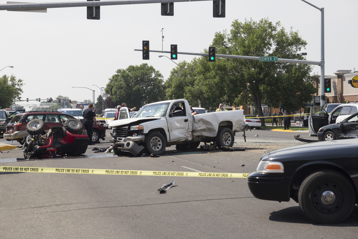 Miracle at Center and Main: One woman's experience during car chase