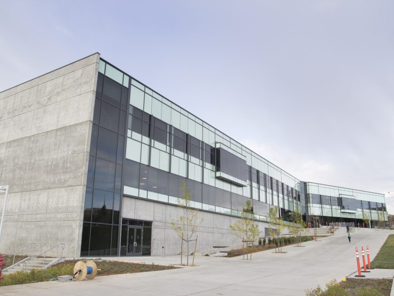 The new Science and Technology Building. (Brooks McFadden, Scroll Photography)