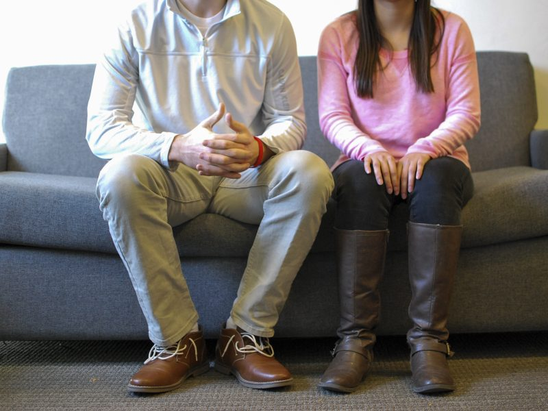 The hurdles of how awkward dating can be very awkward at first. A couple on a first date. (Savannah Sanok)