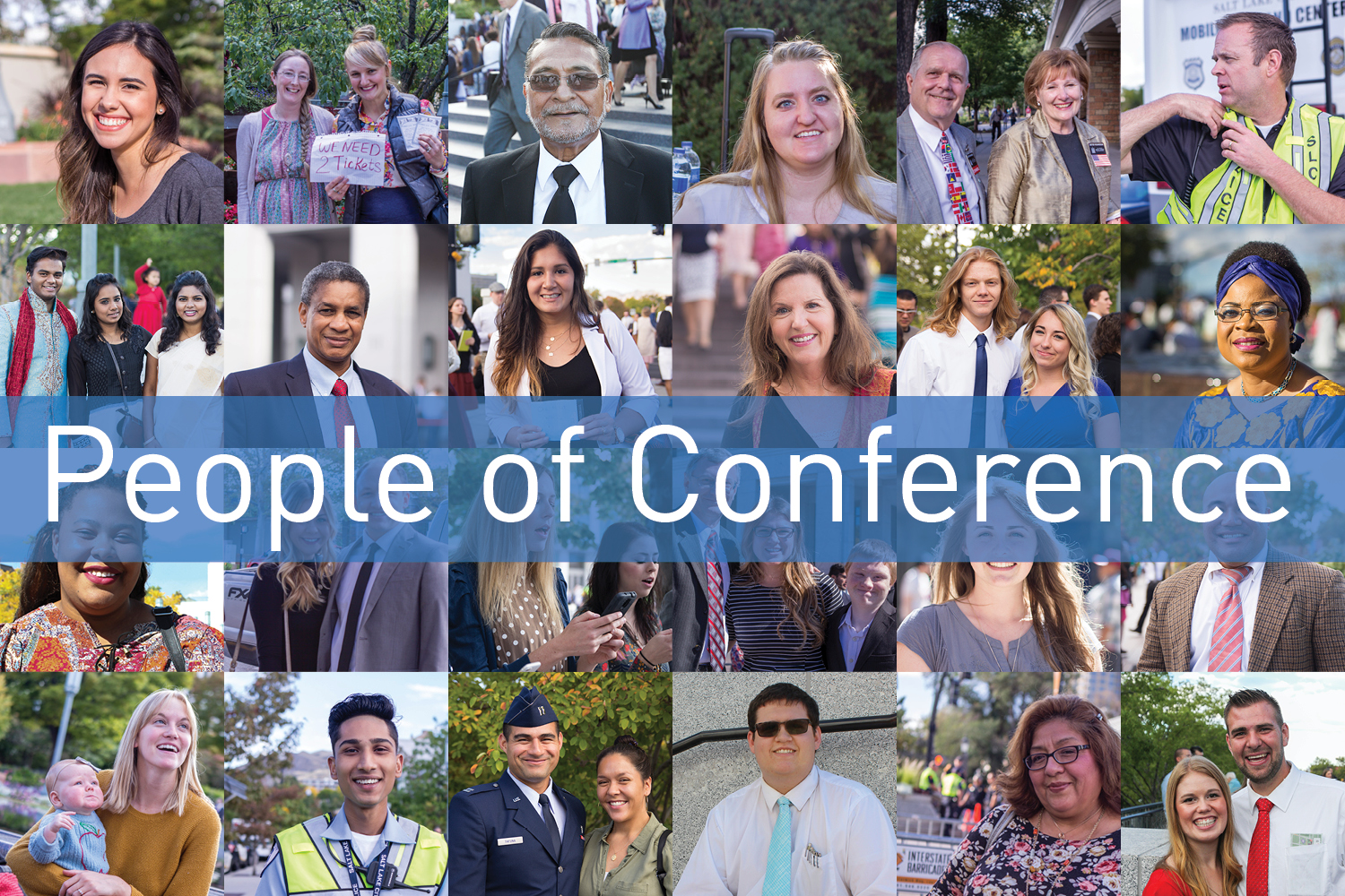 The Weekly Image: People of Conference share their stories