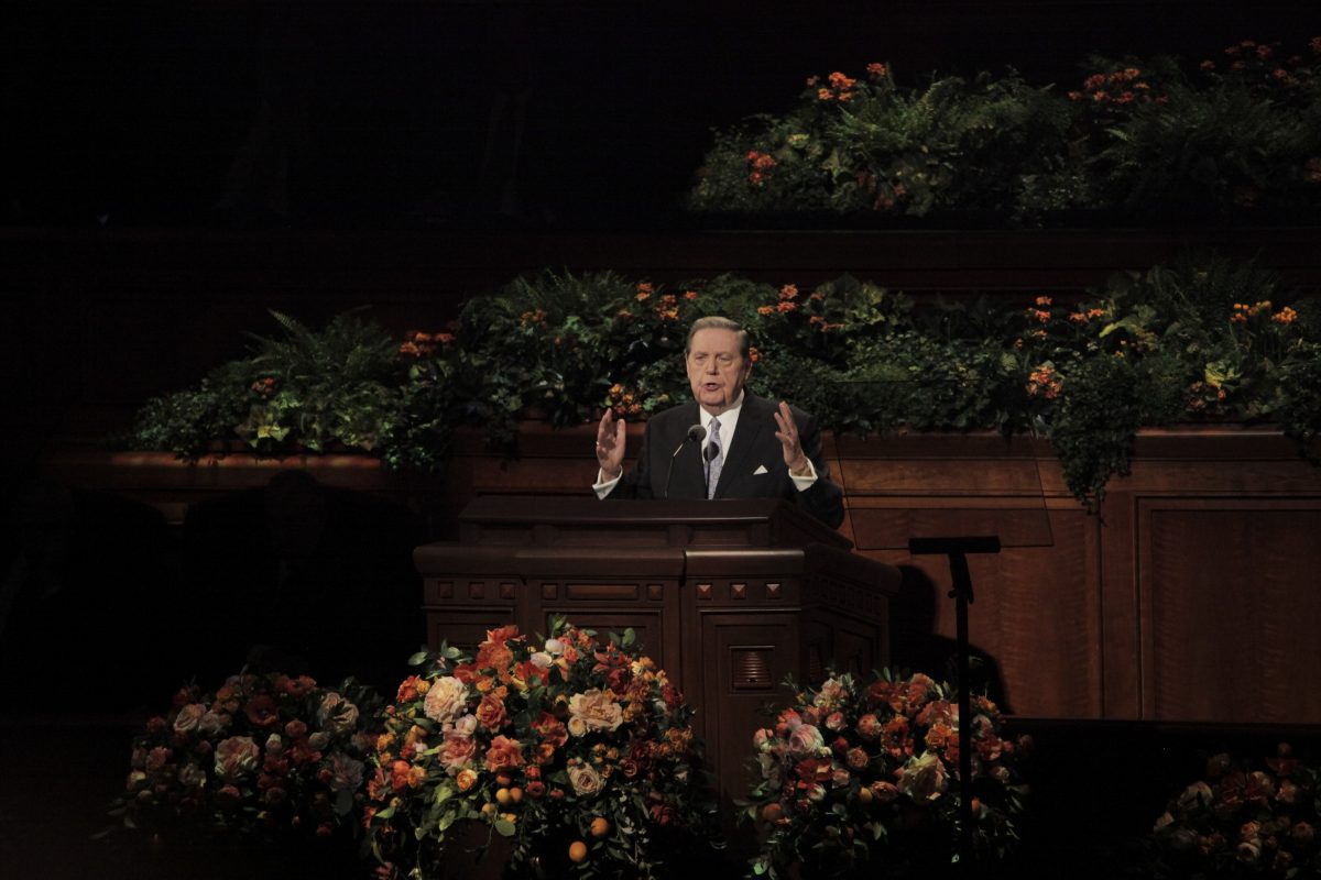 #ldsconf highlights: Strength is found throughout priesthood session