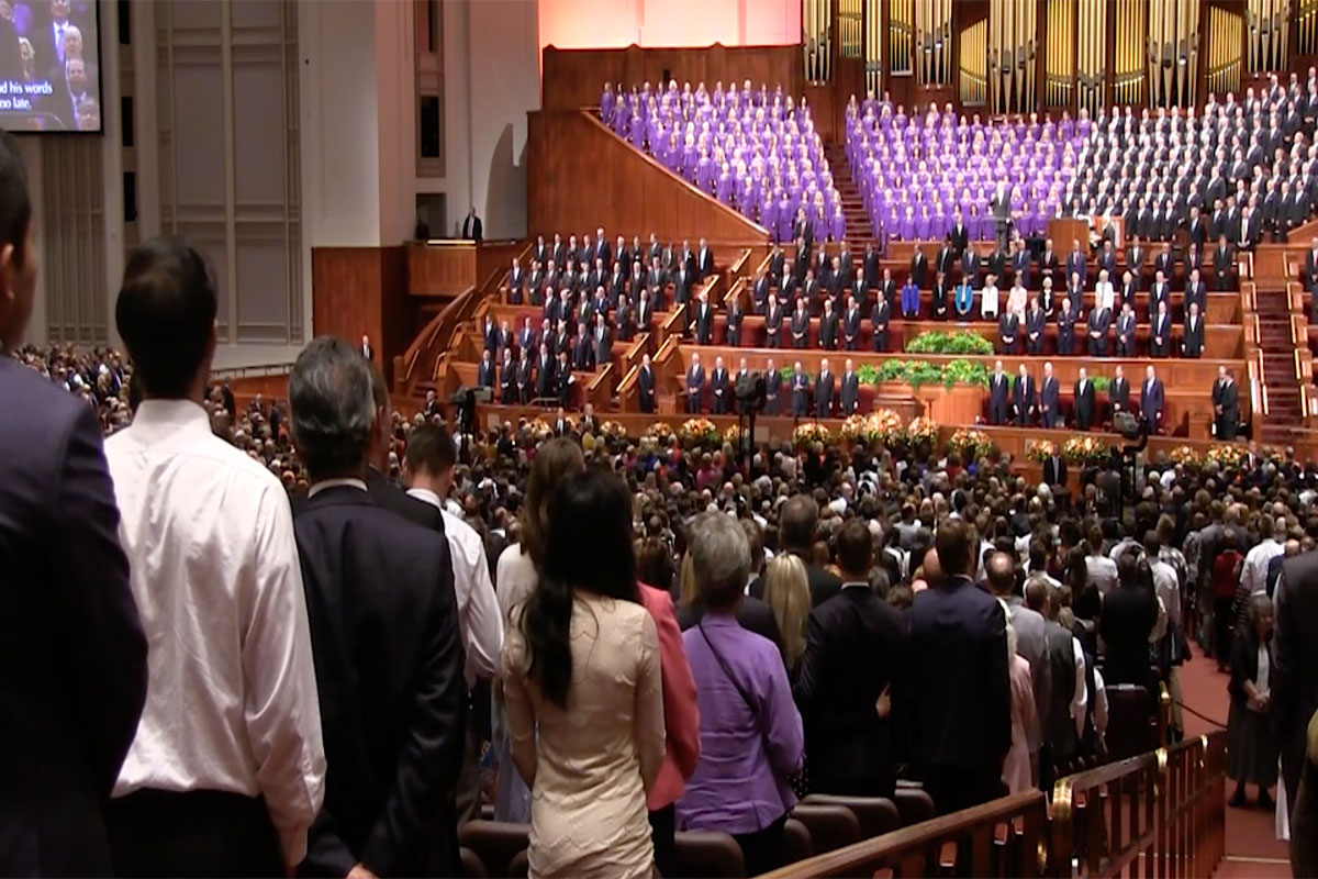 The Mormon Tabernacle Choir's busy conference weekend