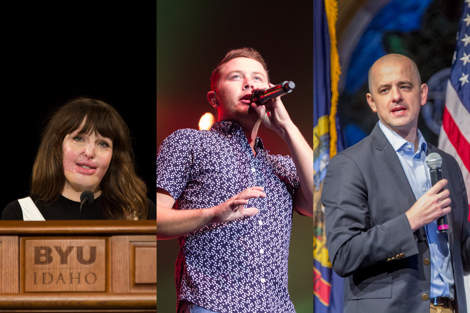 The Weekly Image: Stephanie Nielson, Scotty McCreery and Evan McMullin come to Rexburg