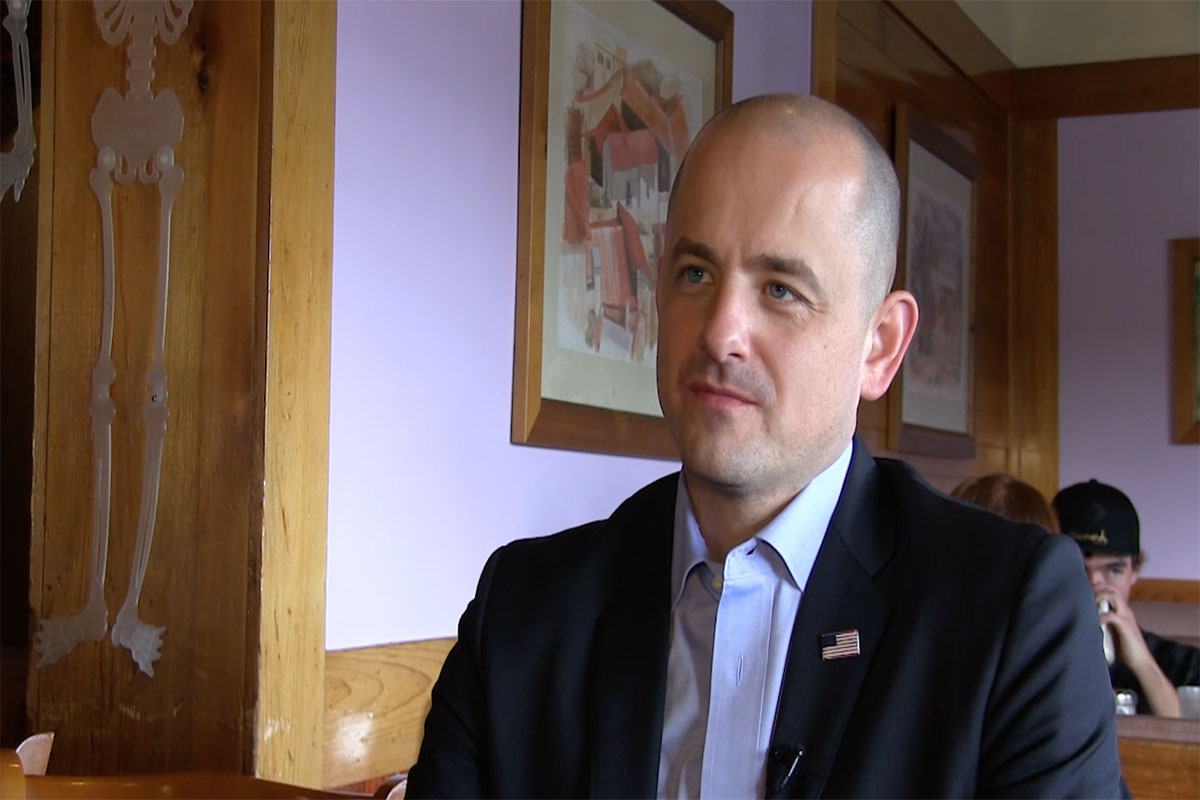 WATCH: Exclusive interview with Evan McMullin
