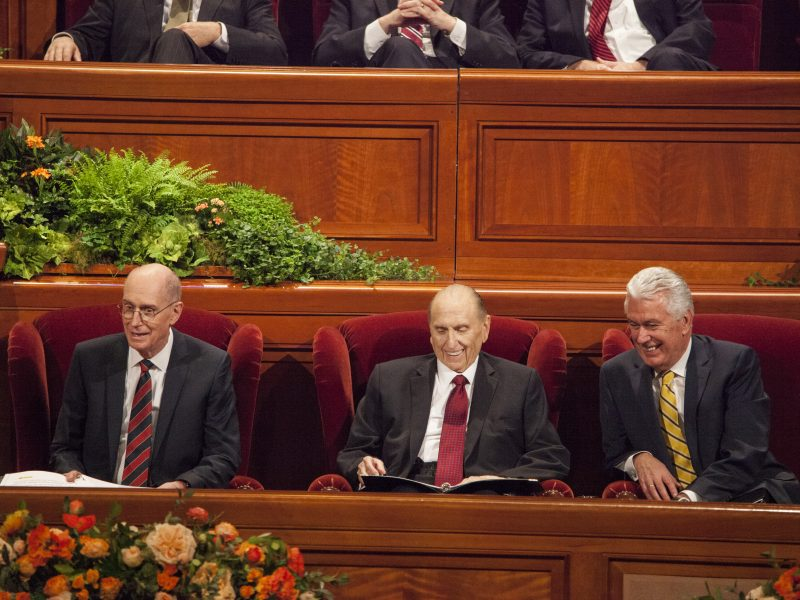 Sunday Afternoon session of General Conference