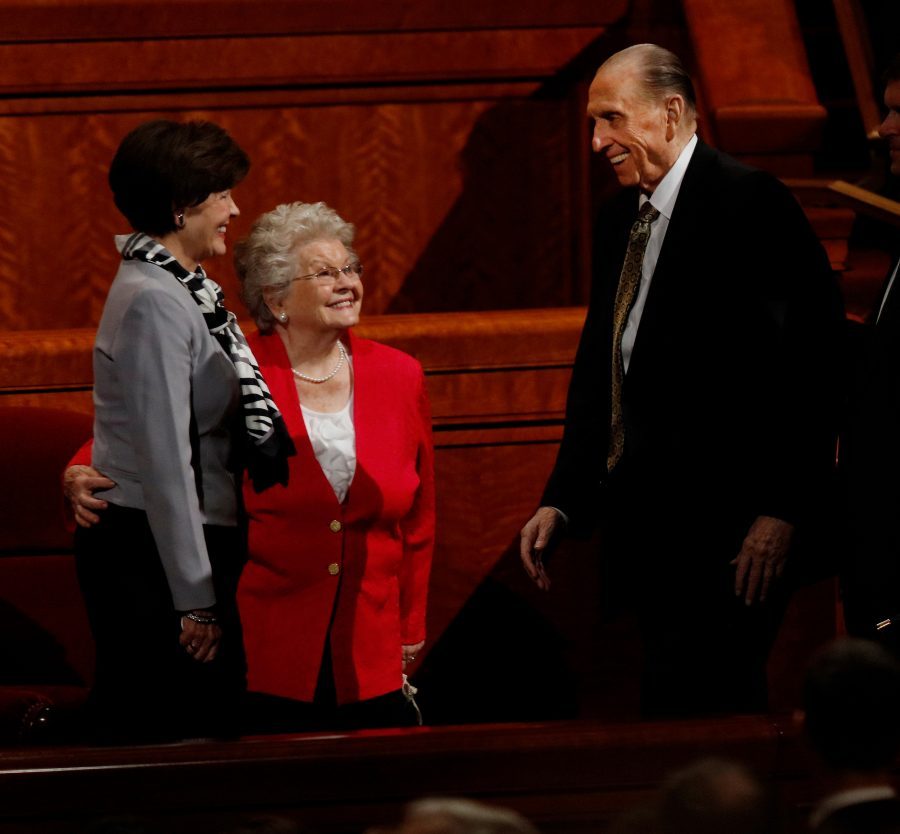 """What is most important almost always involves the people around us,"" President Monson said at April 2016 general conference."