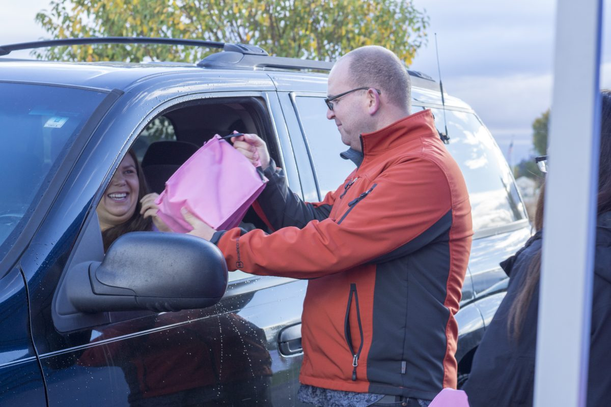 Brake for Breakfast: Raising breast cancer awareness in Rexburg