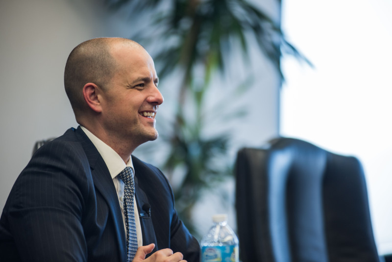 Evan McMullin talks to Scroll