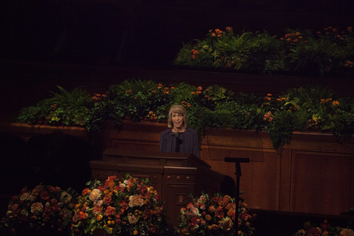 #LDSconf: Sister Carol F. McConkie speaks on prayer