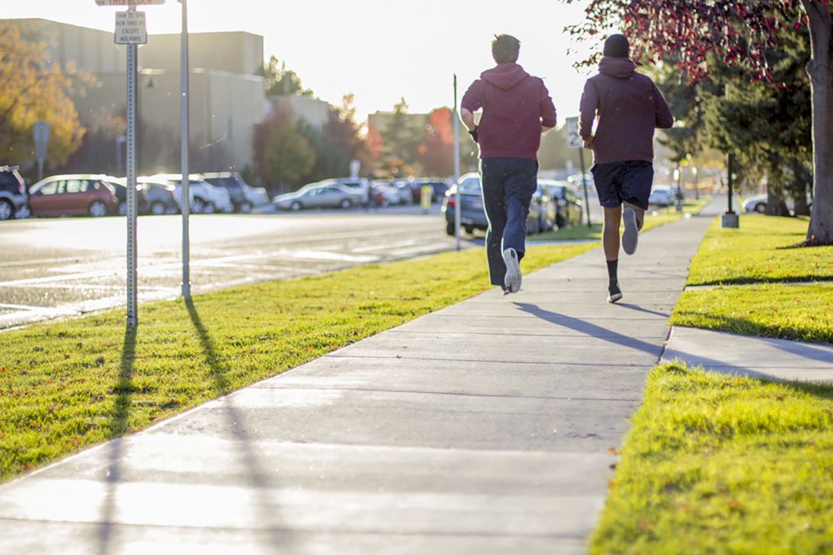 BYU-I holds first Amazing Fitness Race
