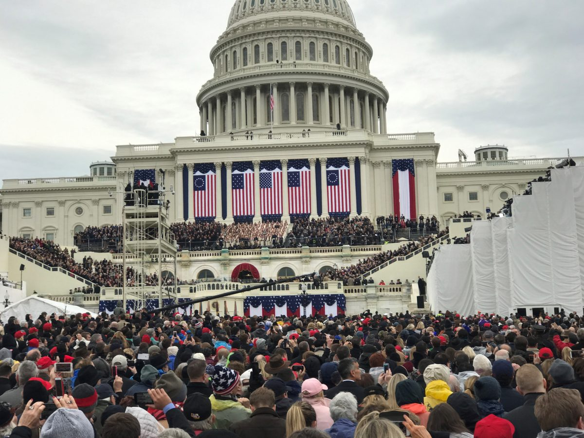 BYU-I student attends inauguration