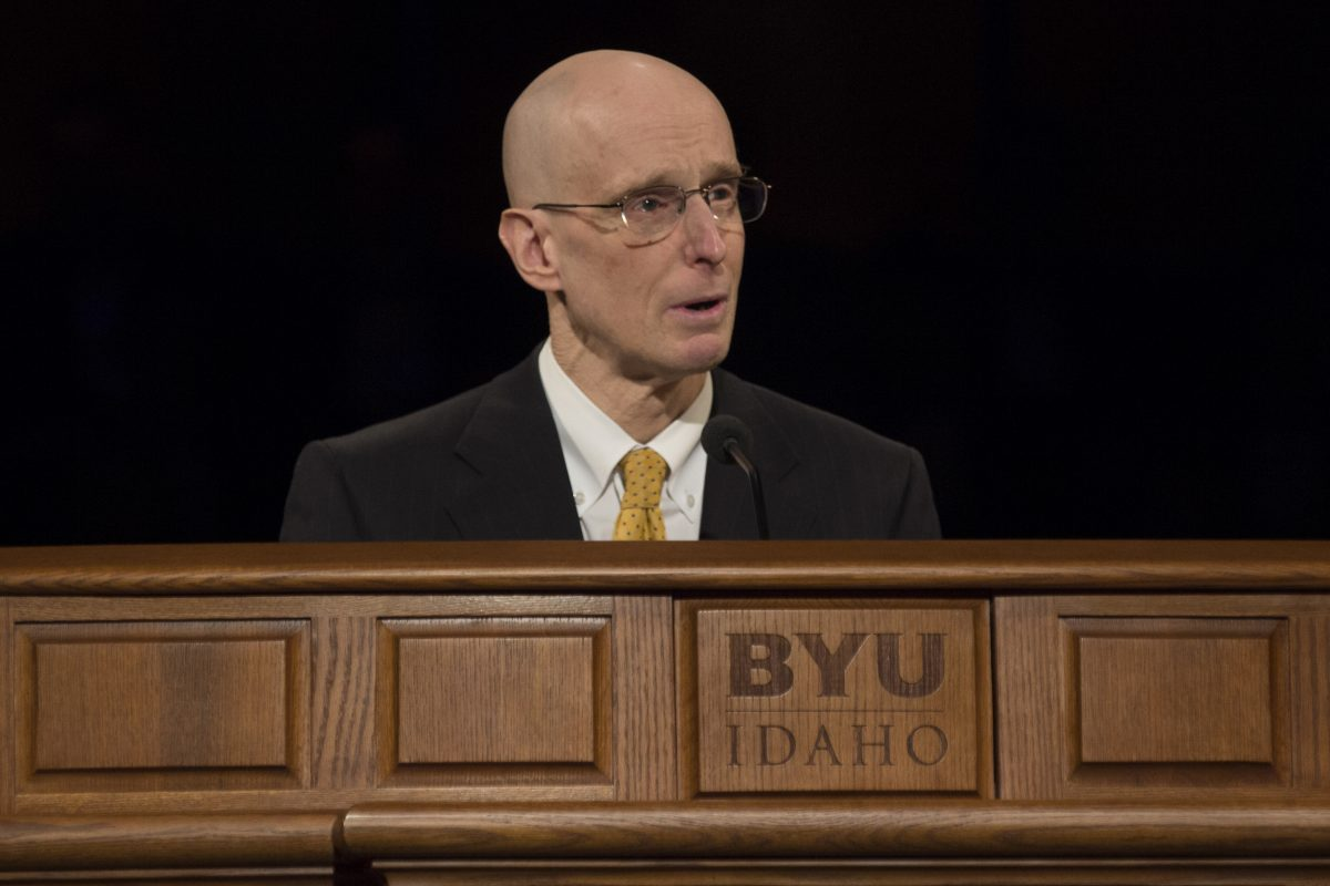 Shaping the future president of BYU-Idaho