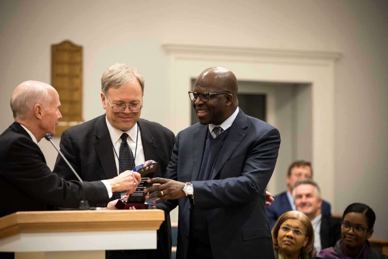 LDS Church gives religious freedom award to Seventh-day Adventist