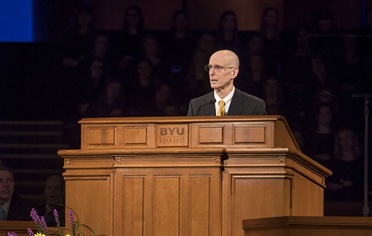 President Henry J. Eyring to succeed President Clark G. Gilbert in April