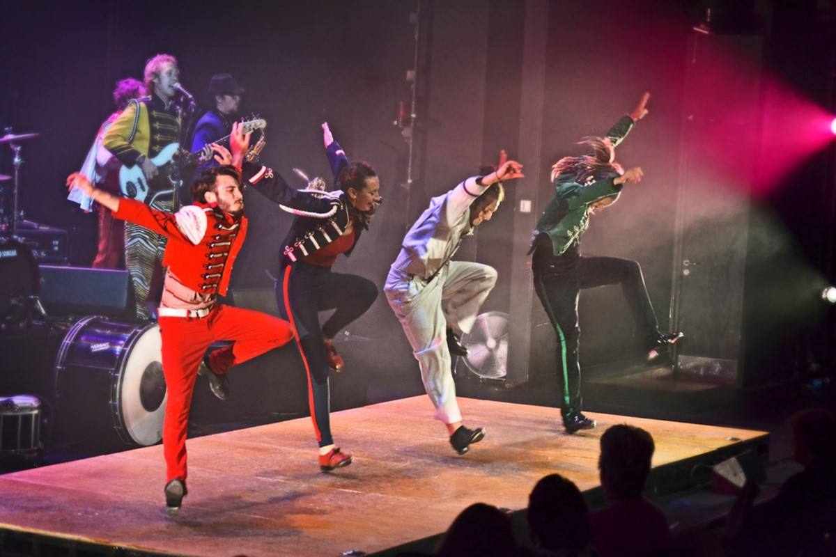 Rhythmic Circus taps up a show