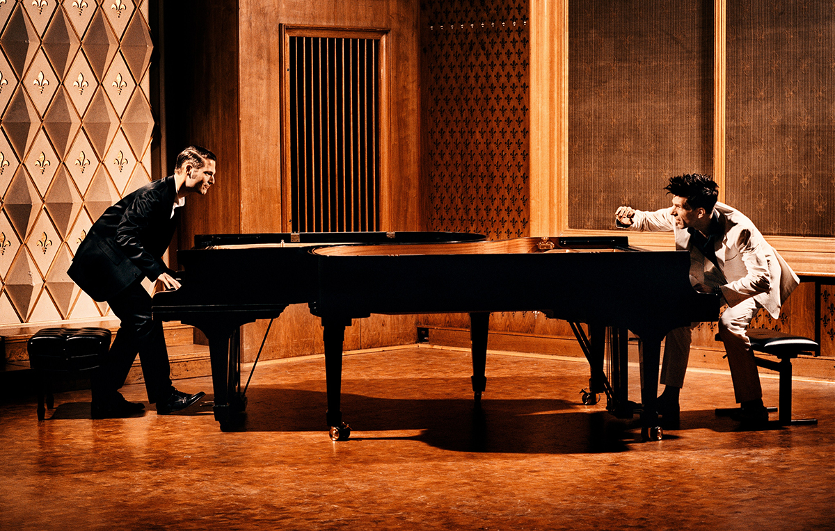 Pianists to go head to head in battle