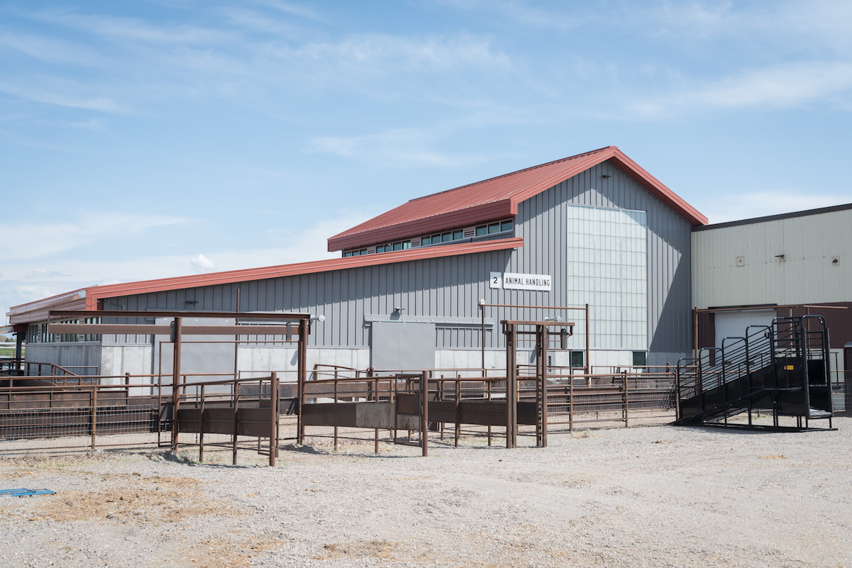 New Agriculture Center Holds Open House